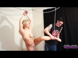 First Time Tickled Heather West Gets Mercilessly Tickled